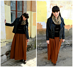 Leila Mustafaeva - Zara Skirt, Befree Sweater - Waiting for spring