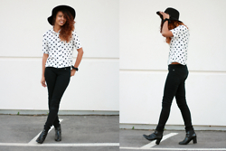Alexis Brooks - H&M Top - LIFE IS FULL OF CONTRAST