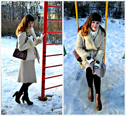 Leila Mustafaeva - Zara Coat, Zara Skirt - Sweet dream