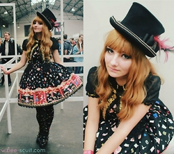 Candy Hashi - Angelic Pretty Star Night Theater, Alice & The Pirates Hat - Mr Loyal