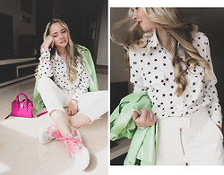 Olga Choi - Kate Katy Star Blouse - Star