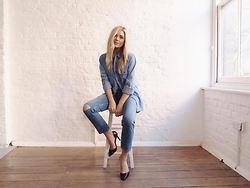 Isabella Thordsen -  - Double denim