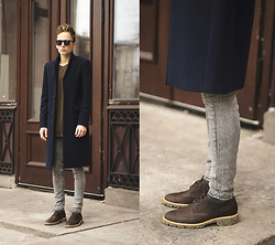 Daniil Shamatrin - Coat, Shoes - CLAIRE – Pioneers