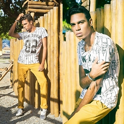Yago Rodrigues - T Shirt, Polo Ralph Lauren - • {SHOOTING!} LOOK OF THE DAY – BROOKLYN BOY!
