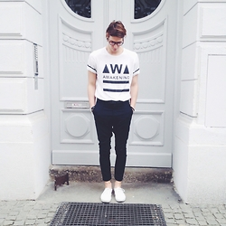 Richy Koll - Vans Sneakers, H&M Suit Pants, Zara T Shirt - Awakening.