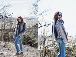 Serena Pirredda - Motivi Fashion Fake Fur Coat - Sunny Fresh Days