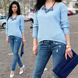 LOOK DU JOUR BY ANA -  - BABY BLUE SPRING