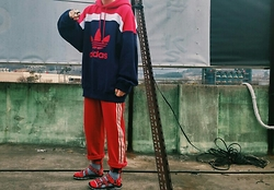 Mushroooooom H - Adidas Hoodie, Asos Rings, Adidas Pants, Opening Ceremony Openingceremonyxteva - Somewhere we know