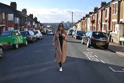 Nora Lauff - Camden Town Coat, Topshop Jeans, Zara Shoes - That camel coat
