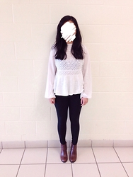 CINDY - Free People Blouse, Jeffrey Campbell Boots - Unfamiliar Innocence