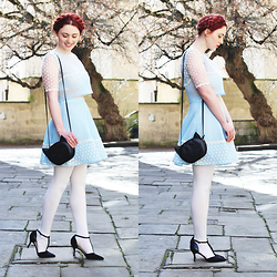 Megan McMinn - Miss Patina Coord, H&M Bag, George Heels - Miss Patina.
