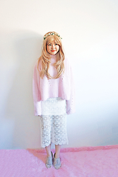 Maggie Y - Unif Sweater, Urban Outfitters Skirt - Duffy