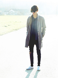 Christoph Amann - Zara Sunglasses, Topman Coat, Marc O'polo Shirt, Cheap Monday Jeans, Primark Shoes - Have you ever .