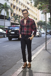 Mikyle Quizon - H&M Shirt, Zara Trousers, Zara Monk Strap - Honestly, Monday sucks.