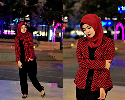 Noni Zakiah H. -  - BLACK AND RED