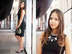 Patricia Prieto - Joseph Dress, Givenchy Bag, Valentino Heels - Steppin' Out In An LBD