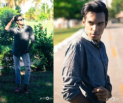 Yago Rodrigues -  - • Look of the Day- STREET STYLE URBAN!