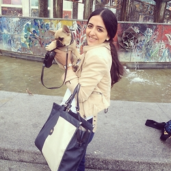 Alessar - Dolce & Gabbana Watches, H&M Jacket - Puppy love