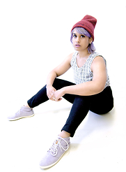 Saadia - Reef Winter Wall Shoe, Levi's® Beanie - _ post equinox _