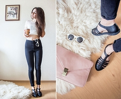 Viktoria Vasilenko - Forever 21 Bag, Topshop Jeans - Back to school