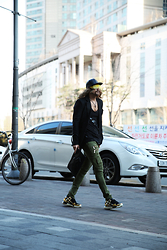 INWON LEE - Byther Blazer, Balmain Pants, Byther Sunglasses - Golden Section