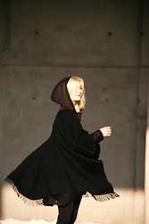 Lidia Nawara -  - SATURDAY - BLACK PONCHO