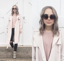 Mary Ellen Skye - Modern Vice Boots, H&M Trech, Urban Outfitters Sunnies - March