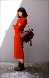 Helena Branquinho -  - Women in red