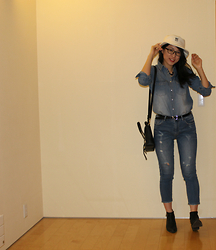 Fashion-Nest -  - DENIM ON DENIM