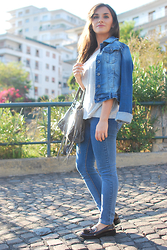 Chiara Lanero -  - Denim and loafers