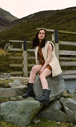 Emily Rose Cornthwaite -  - Shearling and Suede