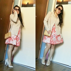 Tania - Lc Floral Dress - Morning Stroll