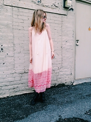 Kirby C - Free People Dress, Isabel Marant Boots - April No. 9