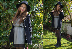 Mira Sophie L. - Topshop Hat, Topshop Jacket, Hout Bay Market Dress, Buffalo Shoes - The Sound of Sunshine