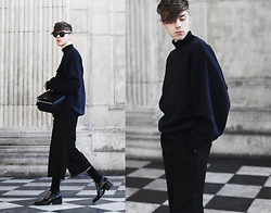 Mikko Puttonen - Acne Studios Sweater, Givenchy Bag, Weekday Trousers, Jil Sander Shoes - Cold skin