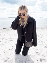 Isabella Thordsen - Céline, Modekungen, Saint Laurent Ysl - All Black Everything + New YSL Bag