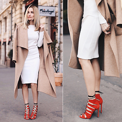 Silvia P. - Zara Coat, J.Maurice Shoes - New shoe crush