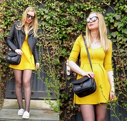 Karolinka K. - Reserved Jacket, Bershka Dress - Just come and find me