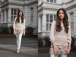 Ninachantal - Promod Sweater, Zara Top, H&M Jeans - Springtime