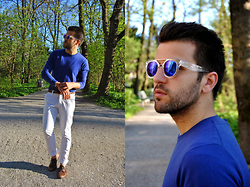 Marc Galobardes - Zara Sweater, Zara Trousers, H&M Shoes - ULTRASOLAR