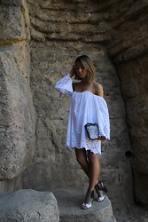Genie Patra - Free People Dress, Fossil Purse, Dolce Vita Heels - Abandoned Zoo
