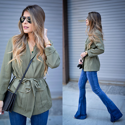 Pam Hetlinger - Topshop Utility Jacket - Military Chic