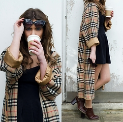 Georgina Walker - Burberry Vintage, Style Moi Boots, Topshop Sunnies - Competition below for goodie box <3