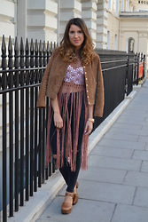 Gemma Talbot - Mango Jacket, Missguided Top, Topshop Shoes - Desert Wanderer