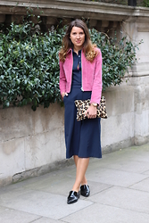Gemma Talbot - Topshop Jacket, Whistles Bag, Asos Jumpsuit, Topshop Loafers - Topshop Boutique Suede Jacket