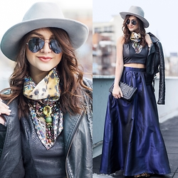 Lexicon of Style Alexandra Dieck - Lexicon Of Style Scarf, Shabby Apple Skirt - Full Skirt of Ideas