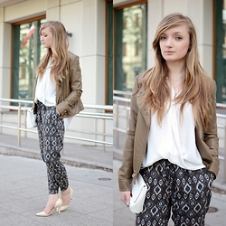 Karolina G -  - Patterned pants | MILDCLOUDS.BLOGSPOT.COM