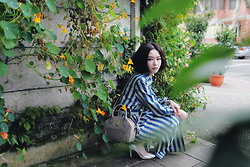 Dorothy Chang - Dresscodetw Trenchcoat - Stripe,Stripes!