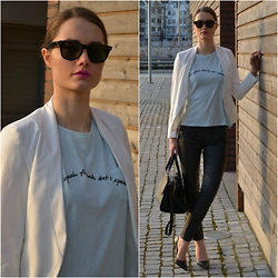 Izabella Kvist - Choies Blazer - I don't speak french but I speak fashion