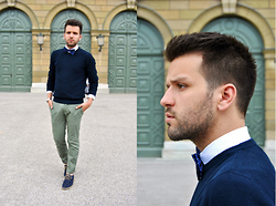 Marc Galobardes - Zara Sweater, Uniqlo Trousers, Zara Shirt - Papillon